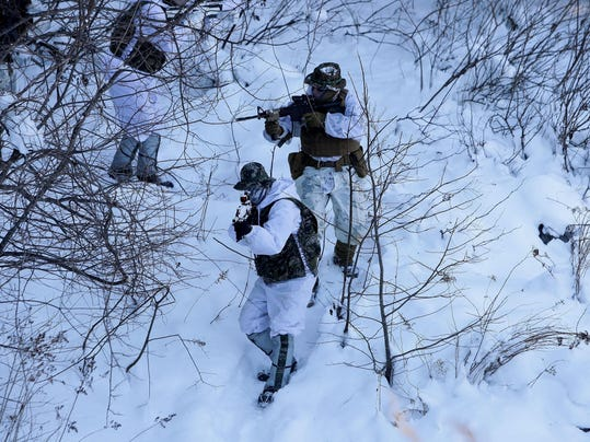 U.S. And South Korean Marines Hold Joint Winter Exercise