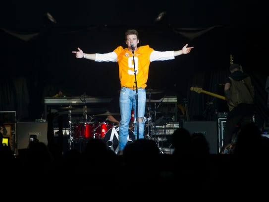 East Tennessee native Morgan Wallen performs as an