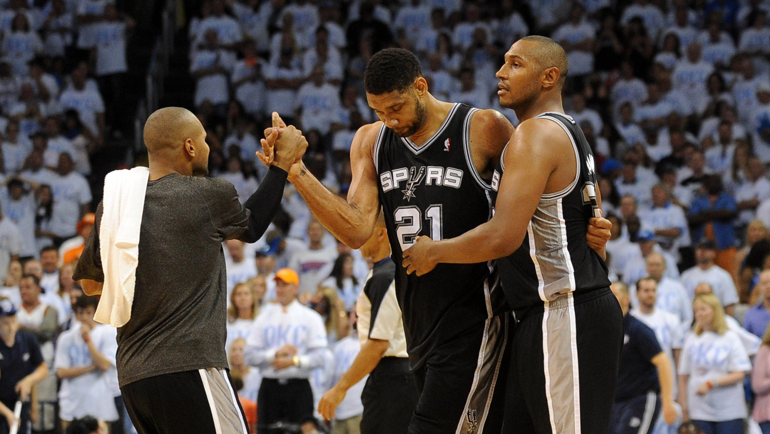 Tim Duncan: Spurs 'happy that it's the Heat again'