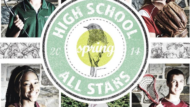 The cover image for the Journal's Spring High School All-Star Section.