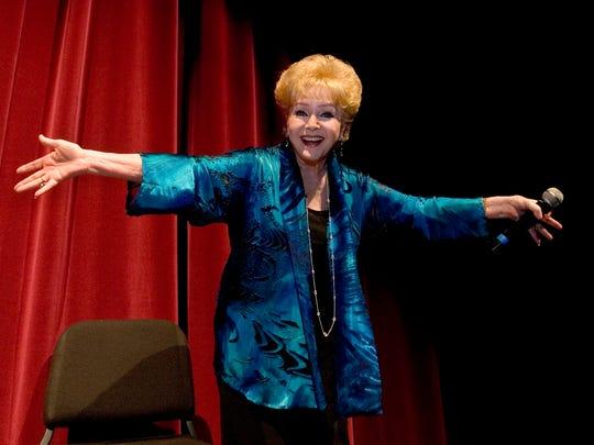 "Debbie Reynolds, co-star of ""Singin' in the Rain,"" spoke at the 2010 Plaza Classic Film Festival in her hometown of El Paso."