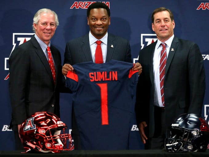 New Arizona Wildcats head football coach Kevin Sumlin