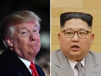 Trump says North Korea delegates will deliver letter from Kim Jong Un about summit