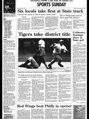 Battle Creek Sports History - Week of June 3, 1997