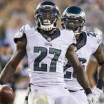 Eagles safety Malcolm Jenkins led the Eagles in tackles for the second season in a row.
