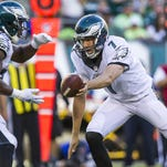 The Eagles' offense will have its hands full with the Jets' defensive line Sunday.