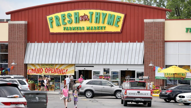 A Fresh Thyme Farmers Market opened in Greenwood in June 2014.