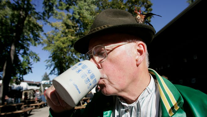 Oktoberfest is Milwaukee's season for drinking beer in celebration of the harvest.