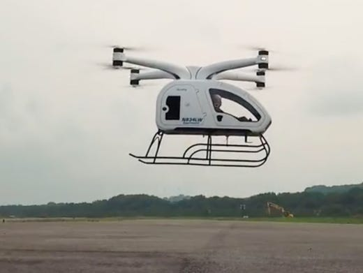Personal Helicopter Could Prove Solution To Urban Congestion