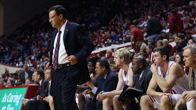 IU coach Tom Crean (left) and the Hoosiers picked up votes in both polls Monday.