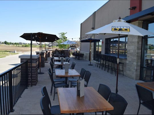 Gastro Grub & Pub's new patio in Waukee.