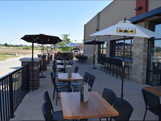 Gastro Grub & Pub's new patio in Waukee.
