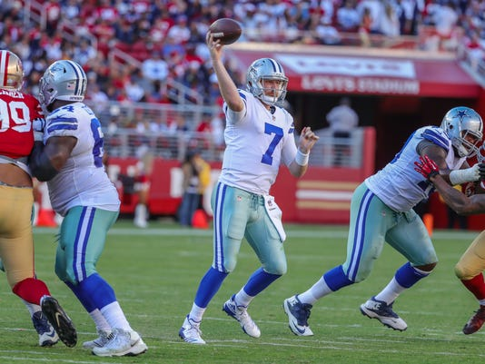 NFL: Dallas Cowboys at San Francisco 49ers