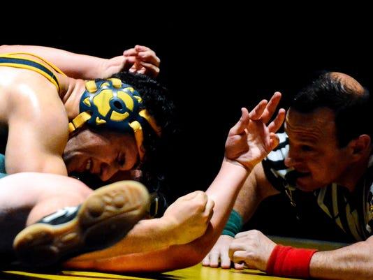 York Tech at Eastern York wrestling