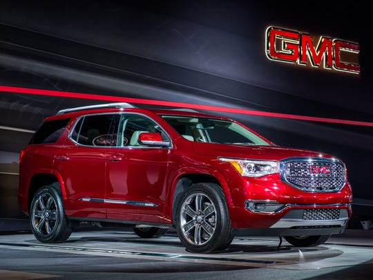 GMC introduces the 2017 GMC Acadia and Acadia Denali