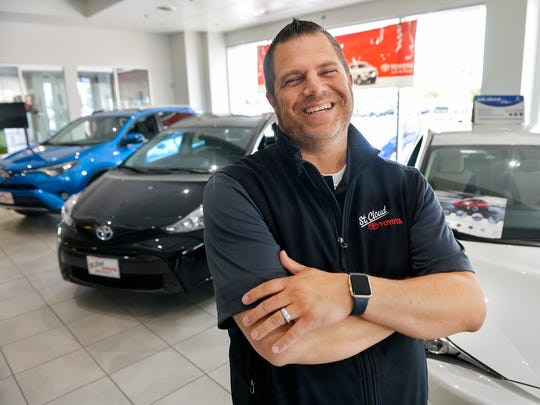 Tom Findley, photographed July 16, has been the general manager for St. Cloud Toyota Scion for five years. He says it's the relationships the dealer creates with its customers that keeps them coming back.
