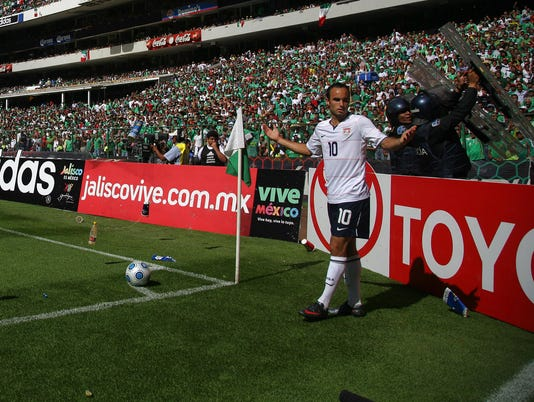 GTY MEXICO V USA - FIFA WORLD CUP QUALIFIER S SOC MEX