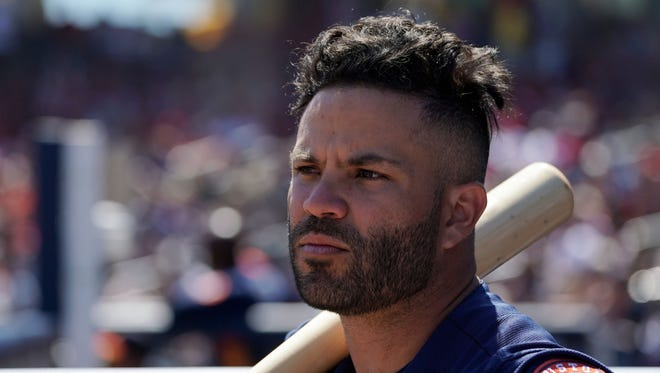 The Astros prefer to look at Jose Altuve's $151 million extension as a seven-year deal, counting the  two years remaining on his previous contract.