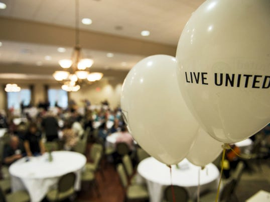 The United Way of Lebanon County held their campaign kickoff at the Alden Club at Alden Place on Thursday, September 10, 2015. The organization hopes to raise 1.85 million this year and the campaign chair is David Warner, Jr. Jeremy Long -- Lebanon Daily News