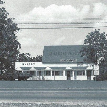 This circa 1956 photo shows Buckman's, a well-loved