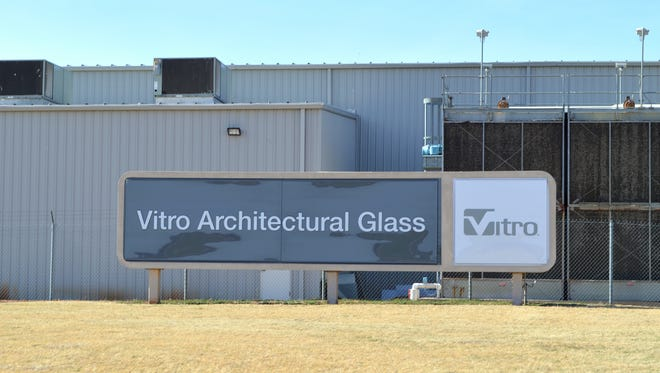 Vitro Architectural Glass is a Monterrey, Mexico-based company that specializes in the production of glass containers and flat glass, including glass for commercial construction projects made at its Wichita Falls plant seen here.