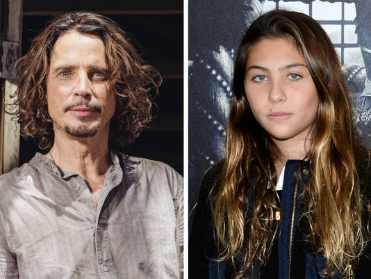 AP PEOPLE-CHRIS CORNELL-DAUGHTER DUET A FILE ENT