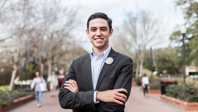 Nathan Molina, the Advance party's candidate for Student Body President, is looking to unite the student body and get to know as many students as possible.