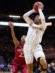 Jannah Tucker has made just two appearances for the Lady Vols this season.