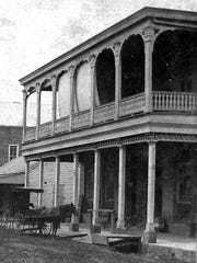 The store of Joseph Bloch on Bloch Corner (corner of Bellevue and Main streets) taken in the early part of 1890s.