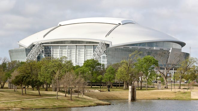 Cowboys Stadium, which will host the 2014 Final Four.