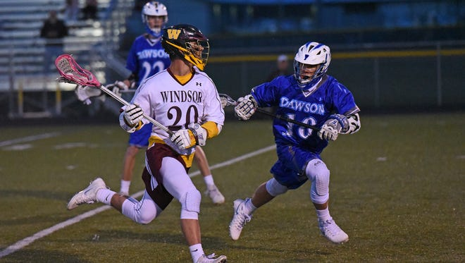 Windsor is the No. 4 seed in the Class 4A lacrosse playoffs.