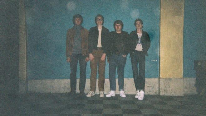 Hartle Road members Tyler Carter, Max Hartleroad, Miles Jordan and Toby Hartleroad.