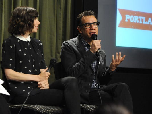SAG Foundation Presents Conversations With Portlandia's Fred Armisen And Carrie Brownstein
