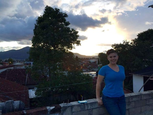 Rebecca May spent a month in Mexico through an AUM