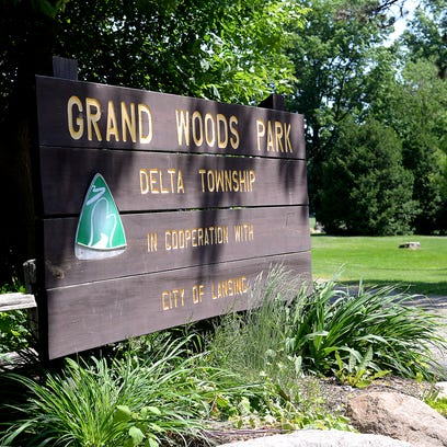 Delta Township officials plan to spend $600,000 to purchase Grand Woods Park, located off Willow Highway, from the city of Lansing.