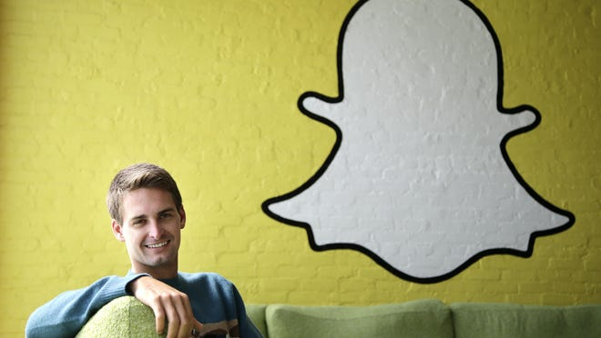 Snapchat revealed Feb. 28 that its payroll department had been duped by an email impersonating its CEO, Evan Spiegel (pictured).