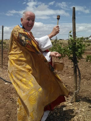 Father Greg Adolf from Saint Andrew the Apostle Catholic Church will lead the Blessing of Sonoita Vineyards.