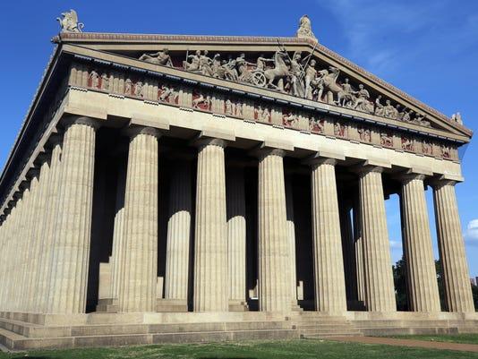 Parthenon Centennial Park Nashville TN