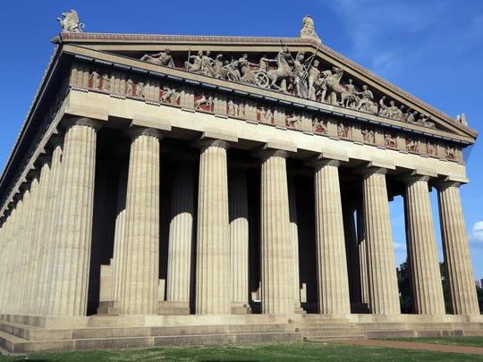 THE PARTHENON: The Parthenon is the longstanding centerpiece of Centennial Park on West End Avenue in Nashville.