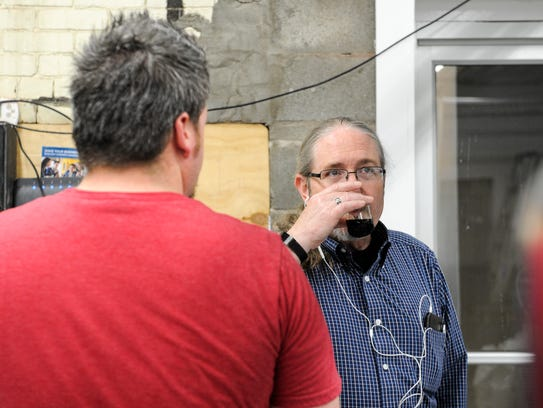 Henderson Brewing Company's head brewer Doug Laramie,