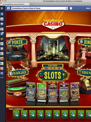 The Facebook-linked game platform DoubleDown Casino.