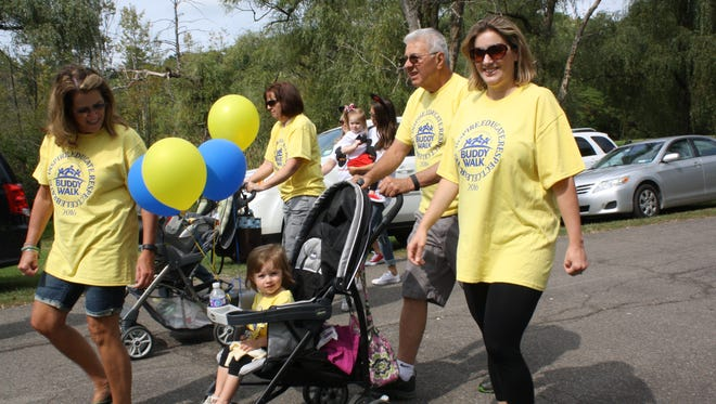 The 2016 Buddy Walk kicked off in Highland Park on Sept. 16.