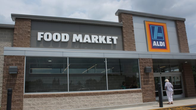 The remodeled ALDI on Upper Front Street in  the Town of Chenango is one of 1,300 stores the chain plans to remodel by 2020.