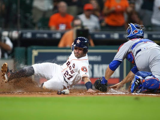 MLB: Game One-New York Mets at Houston Astros