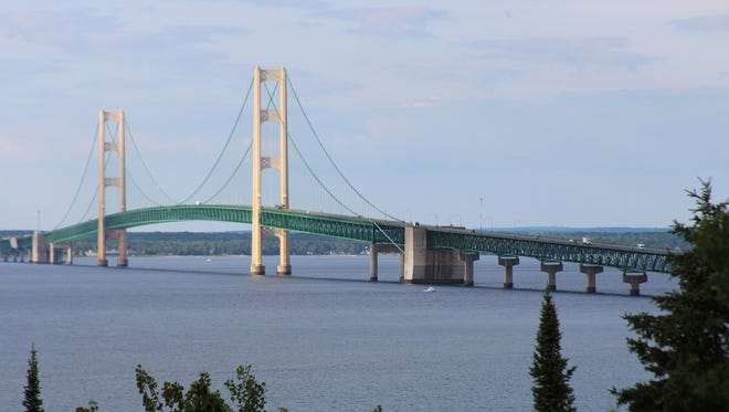 Oil pipelines, owned by Enbridge, that sit under the Straits of Mackinac have raised concerns about what would happen if the pipes ruptured.