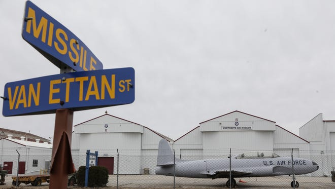The Wurtsmith Air Museum is seen on the grounds of the decommissioned Wurtsmith Air Force Base in Oscoda on March 23, 2016.