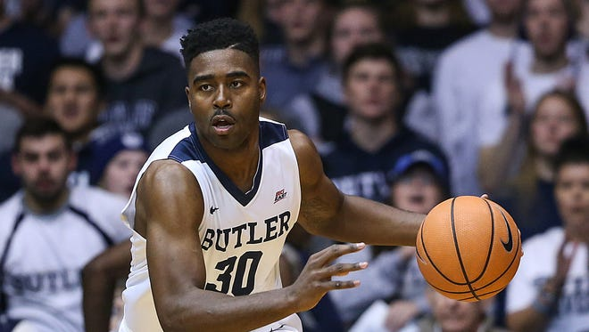 FILE – Kelan Martin's big night helped Butler to a comfortable win over Western Illinois.
