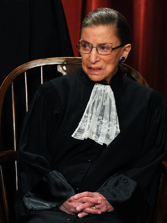 Supreme Court Justice Ruth Bader Ginsburg breaks three ribs after fall in office