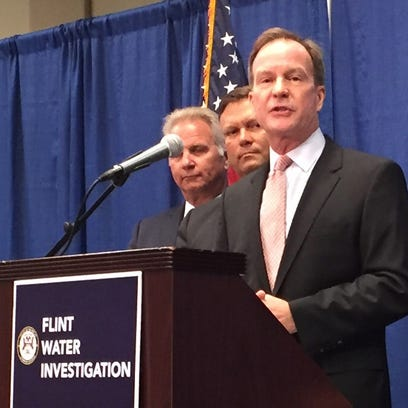 Attorney General Bill Schuette on Friday July 29, 2016