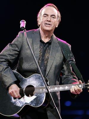 Neil Diamond plays the Blue Cross Arena on June 4